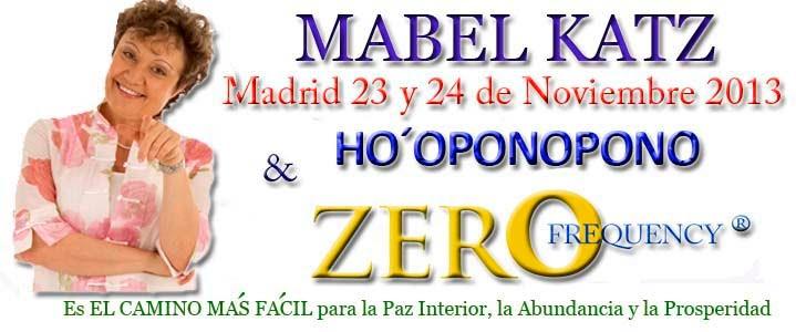 Mabel Katz Madrid 2013