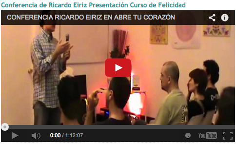 Video Ricardo Eiriz Abre tu Corazón