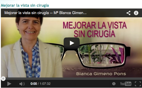 Video Blanca Mejorar la Vista